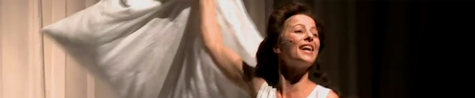 Regine Seidler als Rosa Luxemburg
