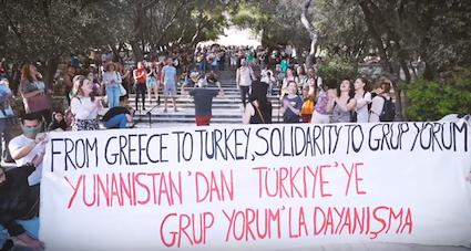Solidaritaet mit Grup Yorum
