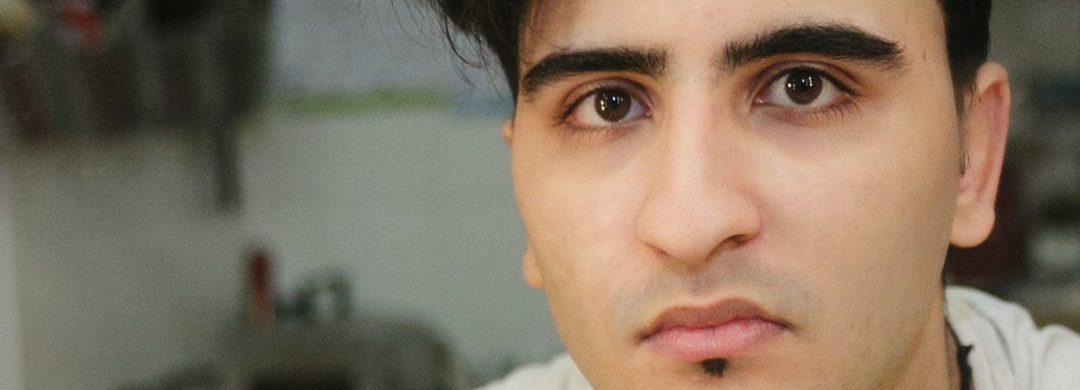 Nasser El Ahmad im Portrait